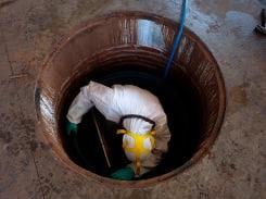 Limpeza de tanques e reservatórios industriais